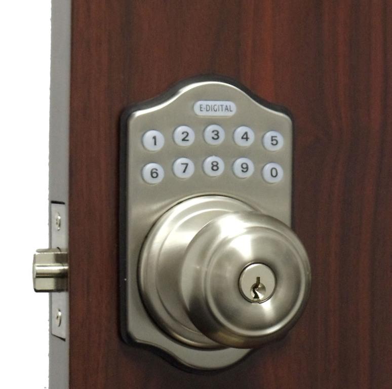 Lockey E930r Digital Keyless Electronic Knob Door Lock