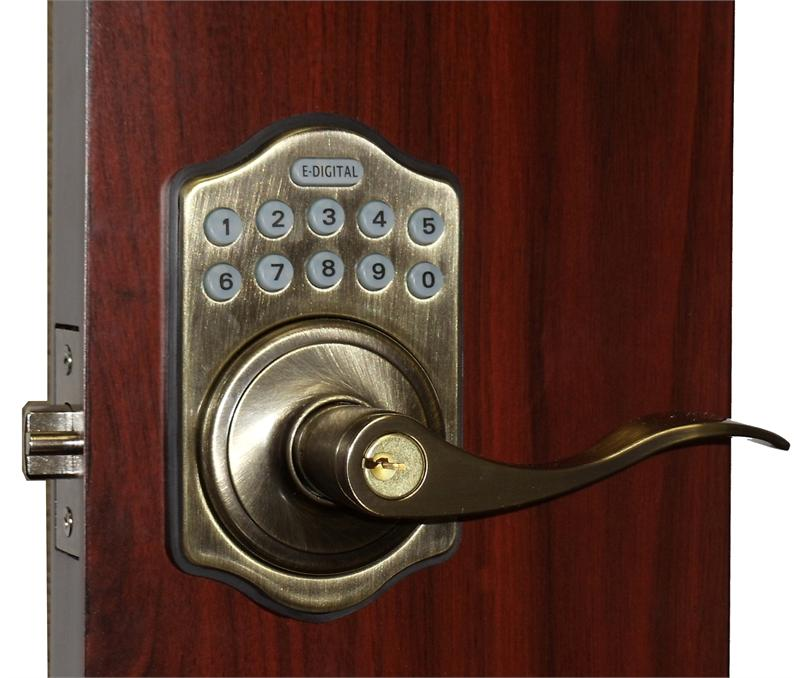 Lockey E985 Digital Keyless Electronic Lever Door Lock